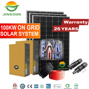 100kw On Grid Solar System